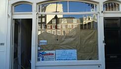 Gevelrenovatie winkelpand te Amsterdam